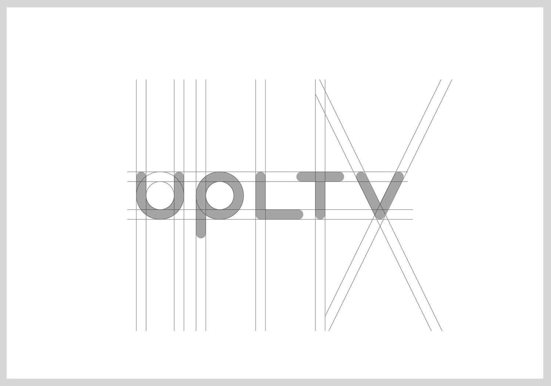 UPLTV Logo Design grids